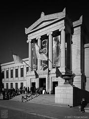 """MFA, Boston (18""""x24"""") (JMichaelSullivan) Tags: bw monochrome boston museum architecture 100v mono mfa nikon 28mm 600v dxo 200v museumoffinearts 500v 2014 700v 300v mjsfoto1956 400v dxofilmpack opticspro coolpixa piccure"""