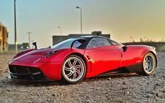 Stance/Wind God. (TAF27) Tags: red amg stance v12 pagani autoart huayra autoartmodels