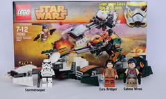 Star Wars Lego 75090 Ezra's Speeder Bike (KatanaZ) Tags: starwars lego stormtrooper minifigs minifigures sabinewren ezrabridger ezrasspeederbike lego75090