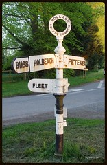 Finger sign post (mickyman13) Tags: finger lincolnshire signpost fleet peterborough spalding holbeach b1168 fingersignpost hollandcountycouncil