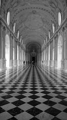 Progressioni geometriche (giuseppe_calvetti) Tags: blackandwhite torino piemonte di palazzo architettura savoia reggia venaria