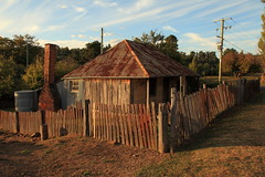 Beyer's Cottage, Hill End (Darren Schiller) Tags: old house building heritage history abandoned architecture fence cottage newsouthwales disused derelict deserted decaying hillend