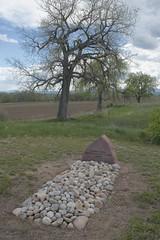 Unknown traveler (Rocky Pix) Tags: unknowntraveler grave site berthoud larimer county highway287northfencebarnyardshedcorralsfieldsagriculturemayspringrockieslarimercountycoloradostvrainriverbasinrockypixrockymountainpixwmichelkiteleyf16160thsec29mm 70200mm f28 f28g nikkor normalzoom monopod