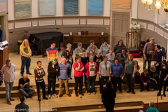 Loud and Proud Choir 2016 -27 (Philip Gillespie) Tags: pink blue gay girls people orange white black men green church boys yellow proud choir contrast canon lesbian happy prime scotland hall concert women edinburgh colours singing smiles transgender event sing bisexual loud songs anthems craigie balleds loudproudchoir craigiechoir