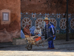 Chefchaouen worker (collinsad2015) Tags: morocco chefchaouen bluecity chacune