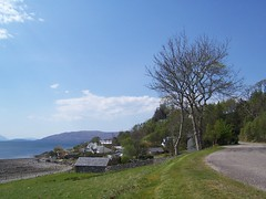 Welcome to Ardaneaskan, Wester Ross, May 2016 (allanmaciver) Tags: trees houses ross track single remote isolated wester ardaneaskan allanmaciver