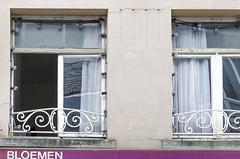 windows-1 (Enidanc) Tags: reflection abandoned window open lightbulbs curtains mechelen raam negrita dsirboucherystraat