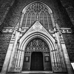 2016 PHOTOCHALLENGE, WEEK 20 : GUEST POST  DOORS (Honeydew Lake) Tags: door canon doors faith religion melbourne cathederal stpatricks hdr photochallenge2016