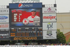 2015-05-20 4209 Minor League Baseball - Pawtucket Red Sox @ Indianapolis Indians (Badger 23 / jezevec) Tags: pictures sports field photography photo team baseball action farm indianapolis redsox indiana images player indians tribe athlete minor pawsox ballpark aaa minorleague basebal honkbal pittsburghpirates 4200 bisbol  minors indianapolisindians 2015 aaabaseball  farmteam pawtucketredsox victoryfield  besbol  internationalleague   bejsbol farmclub beisbols bejzbol  ilbaseball pesapall beisbuols hornabltur bejzbal beisbolas beysbol  bezbl     redsoxfarm 20150520