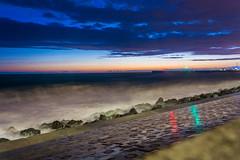 DSC_0251 (sergeysemendyaev) Tags: sunset sea storm beach spring warm waves russia dusk adler atthebeach seashore blacksea seacoast bigwaves sochi  2016                 duringf1 1 duringformulaone