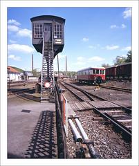 rairoad heritage - part of series - 12 (macfred64) Tags: railroad 120 film mediumformat 645 railway slide chrome transparency 6x45 fujiprovia100f eisenbahnmuseumbochumdahlhausen fujiga645wi fujinon45mmf4 railroadheritage