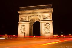 Arc de Triomphe, Paris (Archana Asokan) Tags: paris france ledefrance fr arcdetriomphe