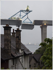 Lift 6 (The Anti-Sharpness League) Tags: jadmor queensferry crossing forth road bridge fife olympus micro