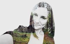 Jovana (Sareni) Tags: portrait june forest photoshop spring woods doubleexposure serbia portret jovana suma vojvodina twop srbija banat 2016 prolece alibunar juznibanat sareni jovanavragovic
