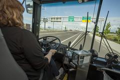 Traveling between stops (OregonDOT) Tags: i5 legislature interstate5 woodburn legislators oregondot willamettevalleyi5corridortour