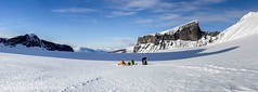 Endless white (travel and nature photography) Tags: schnee winter white snow norway norwegen glacier sled gletscher endless pulka endlos