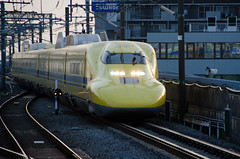 Doctor Yellow (hisanori61) Tags: doctoryellow 923series 923 923 japan shinkansen bullettrain train jr mishima station
