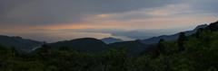Tachibana Bay (MarkE_T) Tags: japan landscape volcanic smcpentaxda18135mmf3556edalifdcwr tachibanabay panorama sunset nitapass unzen mountains lake