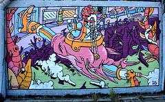 graffiti amsterdam (wojofoto) Tags: holland amsterdam graffiti nederland netherland ndsm deliciousbrains wolfgangjosten wojofoto
