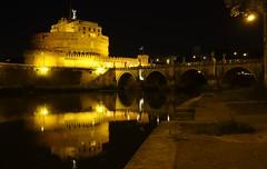 St Angels castle, Rome (Westhamwolf) Tags: bridge italy rome castle st river angels tiber