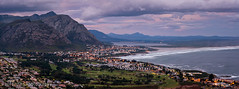 Coastal Town Dusk Panorama (Panorama Paul) Tags: panorama southafrica dusk westerncape coastaltown nikkorlenses nikfilters nikond800 wwwpaulbruinscoza paulbruinsphotography