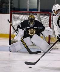 Malcolm Subban (Odie M) Tags: boston wilmington ristucciamemorialarena bostonbruins developmentcamp rookies 2016developmentcamp nhl hockey icehockey teamsport sport malcolmsubban goalie ryandonato