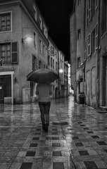 # At Night .... (Fan.D & Dav.C Photgraphy) Tags: blackandwhite bw night noiretblanc streetphotography nb streetphoto nocturne streetnight blackandwhitestreetphotography samsunggtn7100 streeturbainphotography