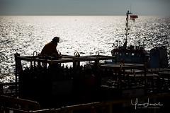 Offshore worker (Yan Lerval) Tags: menatwork backlit corporate editorial gas heavy helmet hose industry men oil onshore open pro professional protection rig scaffolding sea sun yanlerval vungtau vietnam