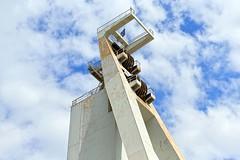 Frderturm (Landesfahrer) Tags: art kohle kunst frderturm ruhrgebiet industriekultur bergbau