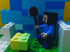 Azul (fyyagg) Tags: blue azul geek lego september minecraft minecon