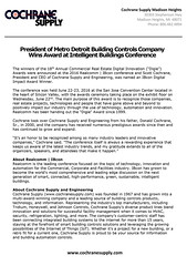metro-detroit-hvac-supply-business-owner-wins-award-at-smart-building-conference (Building Automation | IoT | Smart Buildings) Tags: buildingcontrols bas buildingautomation buildingintegration ibcon2016 ibcon iot intelligentbuilding intelligentbuildings internetofthings airconditioning heating hvacsupply hvac hvaccontractors hvacsupplies hvaccontrols smartbuilding smartbuildings systemsintegrators siliconvalley cochranesupply detroitbusiness madisonheights lightingcontrols heatingcontrols