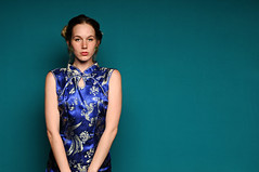 Rami (Studio d'Xavier) Tags: rami blue chinese portrait strobist