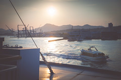 -4732 (kemararia) Tags:  sky tamron sunset japan2016   lightroom  hiroshima    sea vscogallery    traveljapan  vsco    snap japan backlight canon magichour vsco03 light   vscofeature camera 5d sun shipping ship