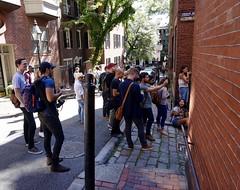 Boston Instagram Meetup Photowalk ((Jessica)) Tags: meetup boston photowalk beaconhill acornstreet