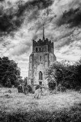 All Saint's (nigdawphotography) Tags: allsaints church ashdon essex churchyard tower steeple graves grave