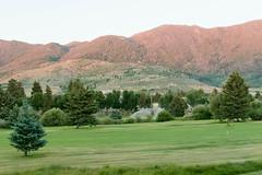 mt_butte_toadmanor.jpg (BradPerkins) Tags: grass trees butte nature mountains toadmanor montana golfcourse sprinkler