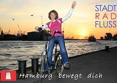 Kurzfilm Stadt Rad Fluss