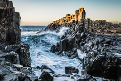 The approach (Howard Ferrier) Tags: oceania rock bombo ocean waves tasmansea kiama igneousrock basalt newsouthwales pacificocean australia sea bomboquarry theditch au