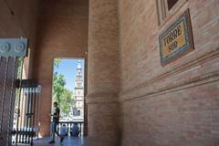 Torre Sur - Plaza de Espaa (Sevilla) (Bazinga!) Tags: siviglia sevilla seville plazadeespaa torresur