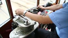 Hongkong_Straßenbahn_Fahrt_längs_der_King's_Road_29_09_2016_MVI_5295 (Bernhard Kußmagk) Tags: kusmagk asien asia asie china hongkong xiānggǎng bonde eléctrico raitioliikenne sporvei sporvogn spårväg streetcar tram tramm tramvaiul trolley tramvay tramwaj villamos tramway tramwaje tranvia trikk трамвай τραμ tranbia ट्राम 市内電車 tranvía spårvagn tramvajus tramvajs tramvia tranvai raitiovaunu strasenbahn 有轨电车 bernhardkusmagk bernhardkussmagk hongkongtramways dingding doppeldecker doppelstockwagen schmalspur narrowgauge kapspur 1067mm 香港電車 sonderverwaltungszone ehemaligebritischekronkolonie trolleypole stangenstromabnehmer zweiachser twoaxlecar kussmagk