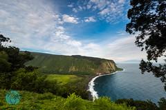 Hawaii (Big Island) Aug 2016 (brandon.vincent) Tags: big island hawaii trocial pacific ocean volcano lava waterfall waipio valley cliff morning