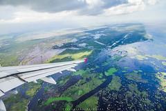 Cambodia Rainforest (mandu yuri) Tags: cambodia siemreap rainforest forest sky 550d canon550d 1018mm airplane airplan canon