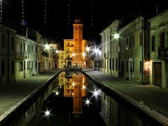 Comacchio (andrea.suzzi1985) Tags: comacchio emiliaromagna italy italia magic love canali campanile canon1200d canon lights luci christmas longexposion night notte ferrara reflaction reflex relax