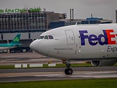 Lillyann (Bradzer) Tags: dublinairport cargo ireland dublin fedex airbus a300 lillyann