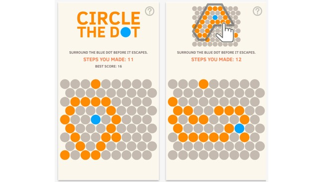 Circle the dot game