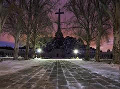 Valley of the Fallen (MDPN) Tags: monument night de los spain valle el valley fallen escorial caidos