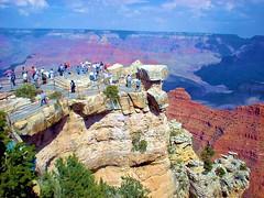 Grand Canyon Overlook (rsiler53) Tags: scenery grandcanyon tourists mybestphotos peopleenjoyinglife grandcanyonoverlook ouramtraktriptoarizonaandpartswest
