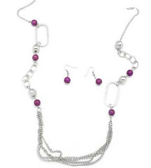 Glimpse of Malibu Purple Necklace K1A P2410A-1