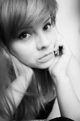 Difuminada (Jenny_1019) Tags: blancoynegro me jenny desaturacin