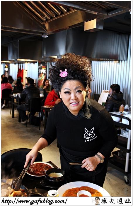 HONEY PIG 韓式烤肉 超火紅 排隊名店 韓國大媽 國際連鎖